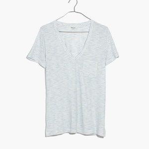 Madewell Whisper Basic Shirt Top Tank Size Large